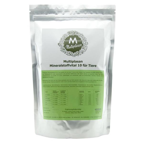 Multiplasan Mineralstoffvital 10 für Tiere (900g)
